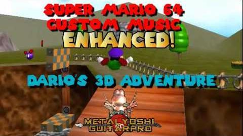 SM64 Custom Music Dario's 3D Adventure Enhanced