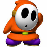 Orange Shy Guy