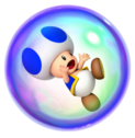 Blue Toad Bubble