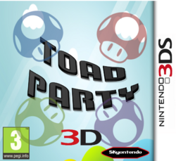 Toad Party 3D