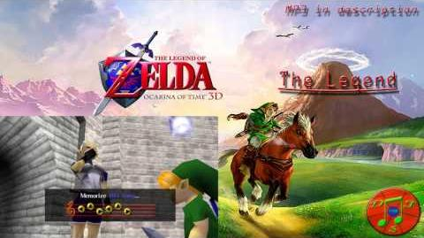 Legend of Zelda Ocarina of Time (3D) Medley - The Legend