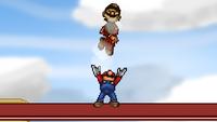 Mario Up Throw