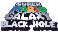 Super Mario Galaxy Black Hole - Logo by Gablemice