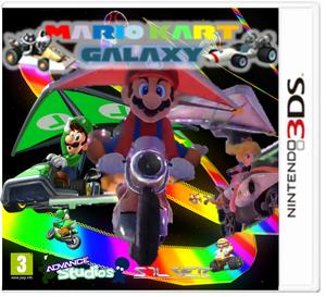 Mario Kart Galaxy Carátula
