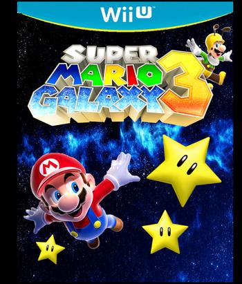 Super Mario Galaxy 3 Wii U