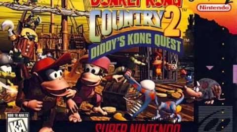 Donkey Kong Country 2 Diddy's Kong Quest - Snakey Chantey (Rattle Battle)