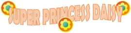 Super Princess Daisy Logo By Silver Martínez