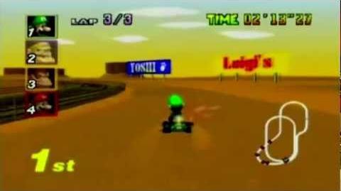 Mario Kart 64 - Kalimari Desert (Sega Genesis Remix)
