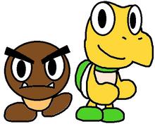 Goomba y koopa remix