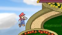 Mario Ledge Attack 1