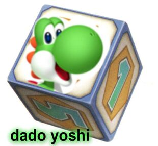 Dado yoshi mario party origins