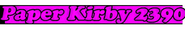 Paper Kirby 2390 - NombreLogo