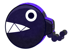 Chain chomp artwork desu ne