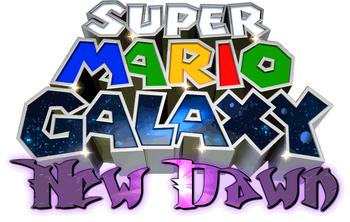 Super Mario Galaxy New Dawn Logo