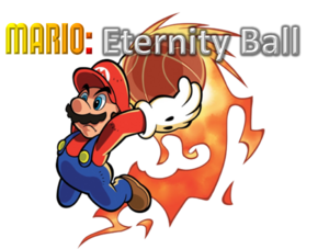 Mario Eternity Ball Logo by Silver Martínez