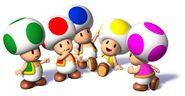 Toads de colores