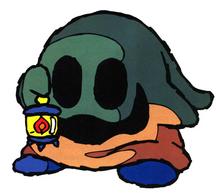 SMW2 Yoshis Island Lantern Ghost