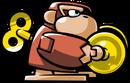 Cymbal Kong
