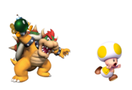 Bowser y Toad