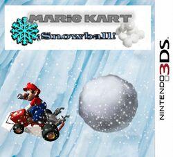 Mario kart snowball