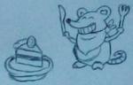 Ratónito dibujo
