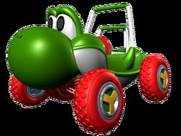 Turbo Yoshi MKDD