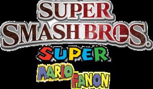 Super Smash Bros. Super Mario Fanon Logo