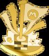 Bandera dorada