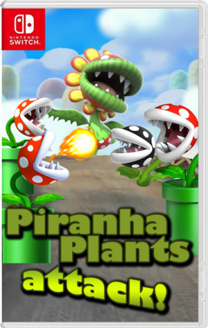 Piranha Plants attack! - carátula