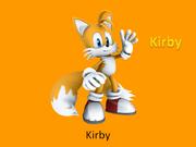 Kirby Sonic Fan