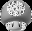 Champiñón Huesos 3D