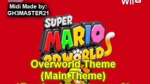 Super Mario 3D World - Overworld theme *Remixed by Starman3*