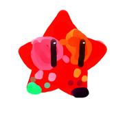 Estrella de tempera