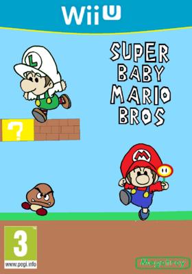 Super Baby Mario Bros Caratula