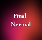 Final Normal