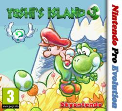 Yoshi's Island 3 Carátula By Silver