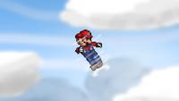 Mario Down Aerial