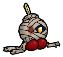 Bandaged bob omb by darkcobalt86-d4eguz4