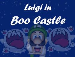 LuigiInBooCastle
