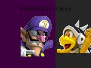 Smashbrosfan vs Spiny