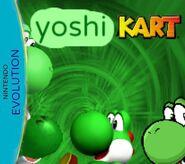 Yoshi kart nintendo evolution