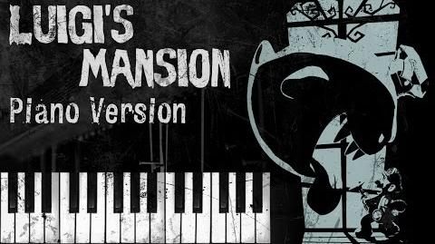 Luigi's Mansion Theme - Piano Version