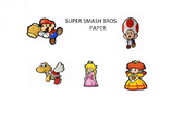 Super Smash Bros Paper Tittle