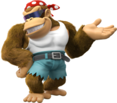 240px-Funky Kong Artwork - Donkey Kong Country Tropical Freeze