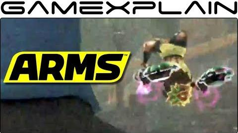 """A Slightly Better Look at the New ARMS DLC Character (Emphasis on """"slightly"""")"""