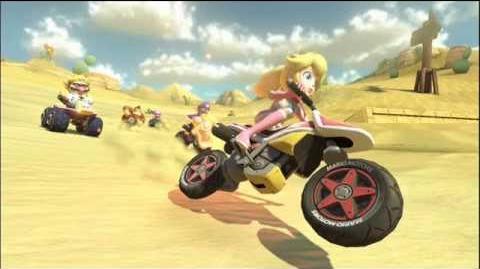 Mario Kart 8 Desierto Seco Seco NGC Música