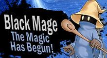 Black mage for ssb4 by elemental aura-d6d73y2