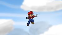 Mario Forward Aerial 1