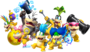 Koopalings new super mario bros- u