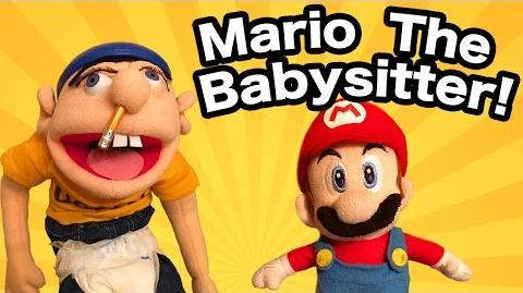 SML Movie- Mario The Babysitter!
